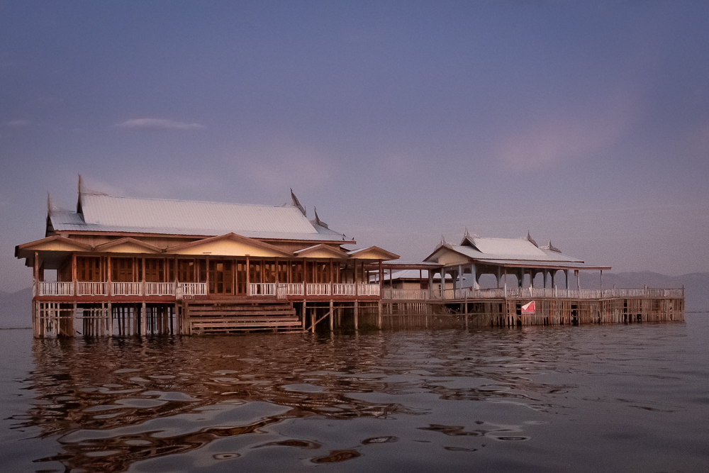 Historic building, Inle Lake