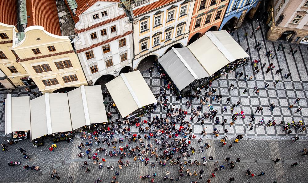 Staroměstské náměstí - old town square, Prague