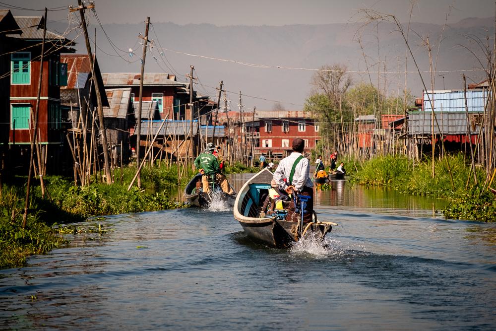 floating village - Inle Lake